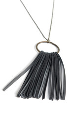 Circle Fringe Necklace by True Partners in Craft