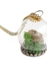 Peppermint Emporium Wasp Nest Terrarium Necklace,  Peppermint Emporium