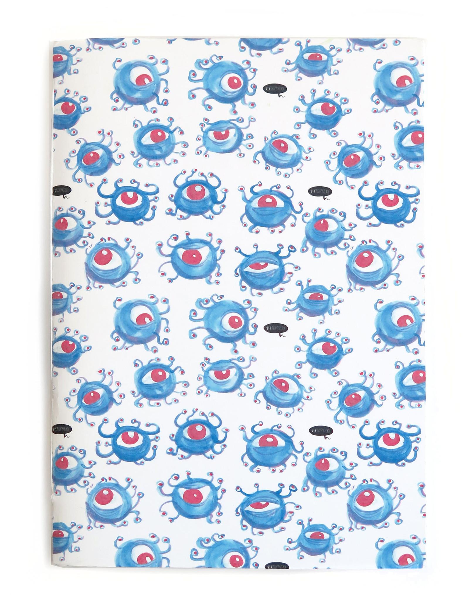 """Eyeballs"" Blank Notebook, Vixtopher"