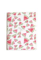 """Watermelon""  Blank Notebook, Vixtopher"