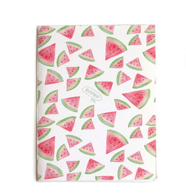 """Watermelon""  Blank Notebook, Vixtopher"