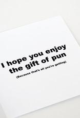 Seasons Greetings Card by Scott Dickens, All4Pun
