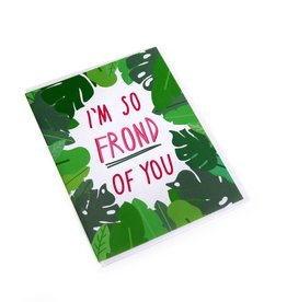 "Konoco ""I'm So Frond of You"" Card by Konoco"