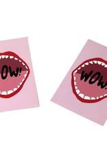 """Konoco """"Wow!"""" Postcard by Konoco"""
