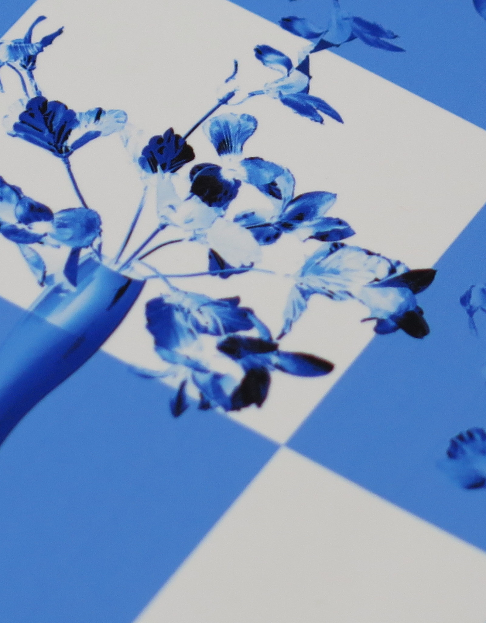 "Ashley Baranczyk ""Boundaries"" (blue and white) by Ashley Baranczyk"
