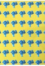 "Ashley Baranczyk ""Boundaries"" (yellow and cyan) by Ashley Baranczyk"