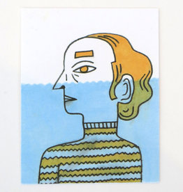 """Under water"" Small Art Card by Eve Senderhauf"