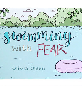 """Swimming with fear"" zine by Olivia Olsen"