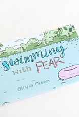 """""""Swimming with fear"""" zine by Olivia Olsen"""