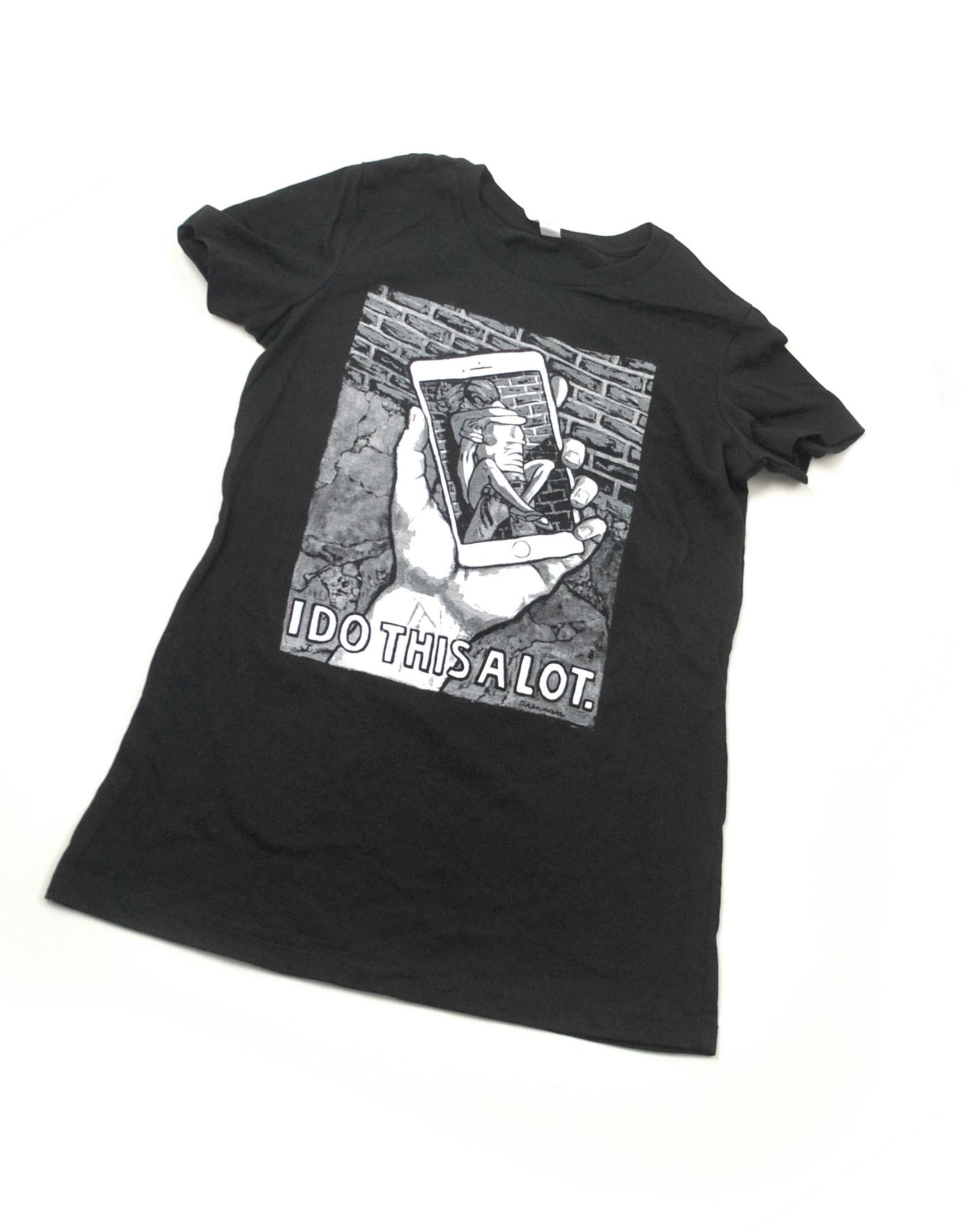 Men's Black Tshirt, Fashion Underground