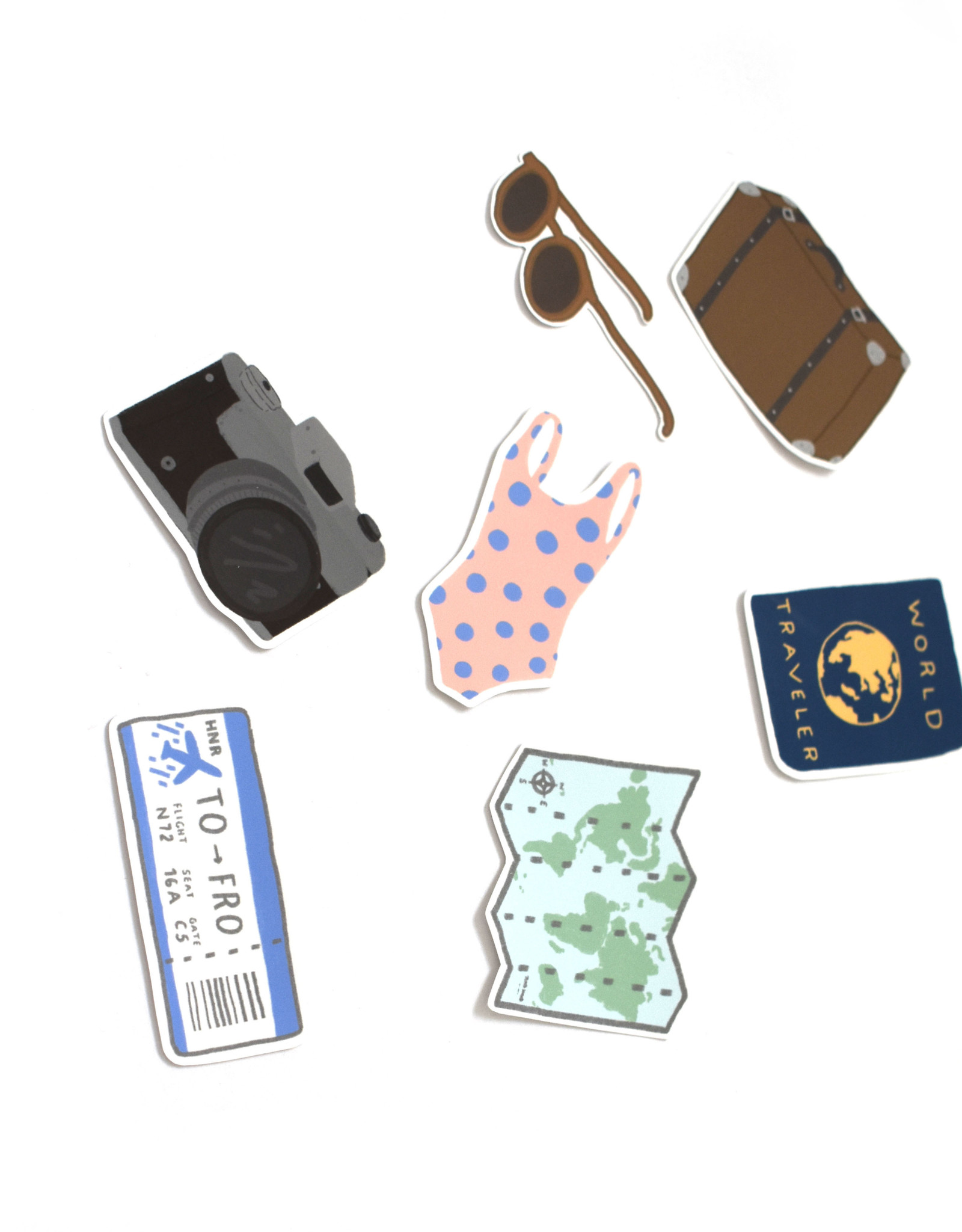 "Konoco ""Vacation"" Sticker Pack by Konoco"