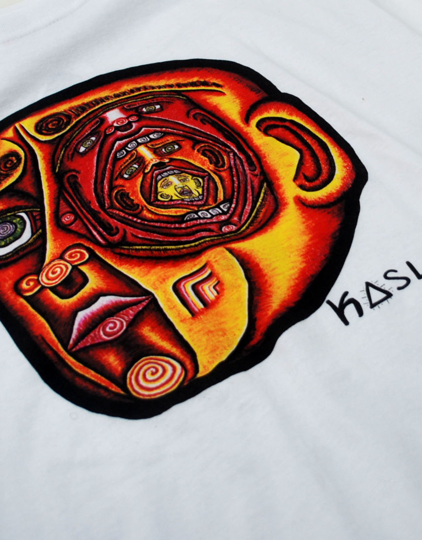 """Inside the Mind's Eye"" Tee Shirt (Medium) by Evan Kasle"