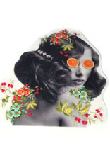 """Nature is She"" (large) sticker by Lizzie Monsreal"