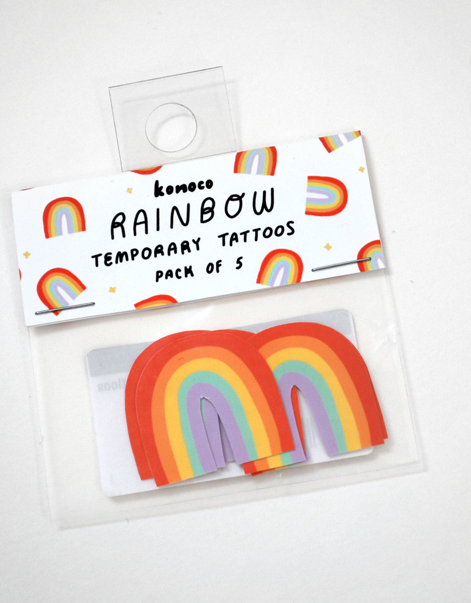 "Konoco ""Rainbow"" Temporary Tattoos by Konoco"