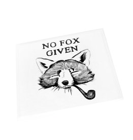 """No Fox Given""  Birthday Card  by Scott Dickens, All4Pun"