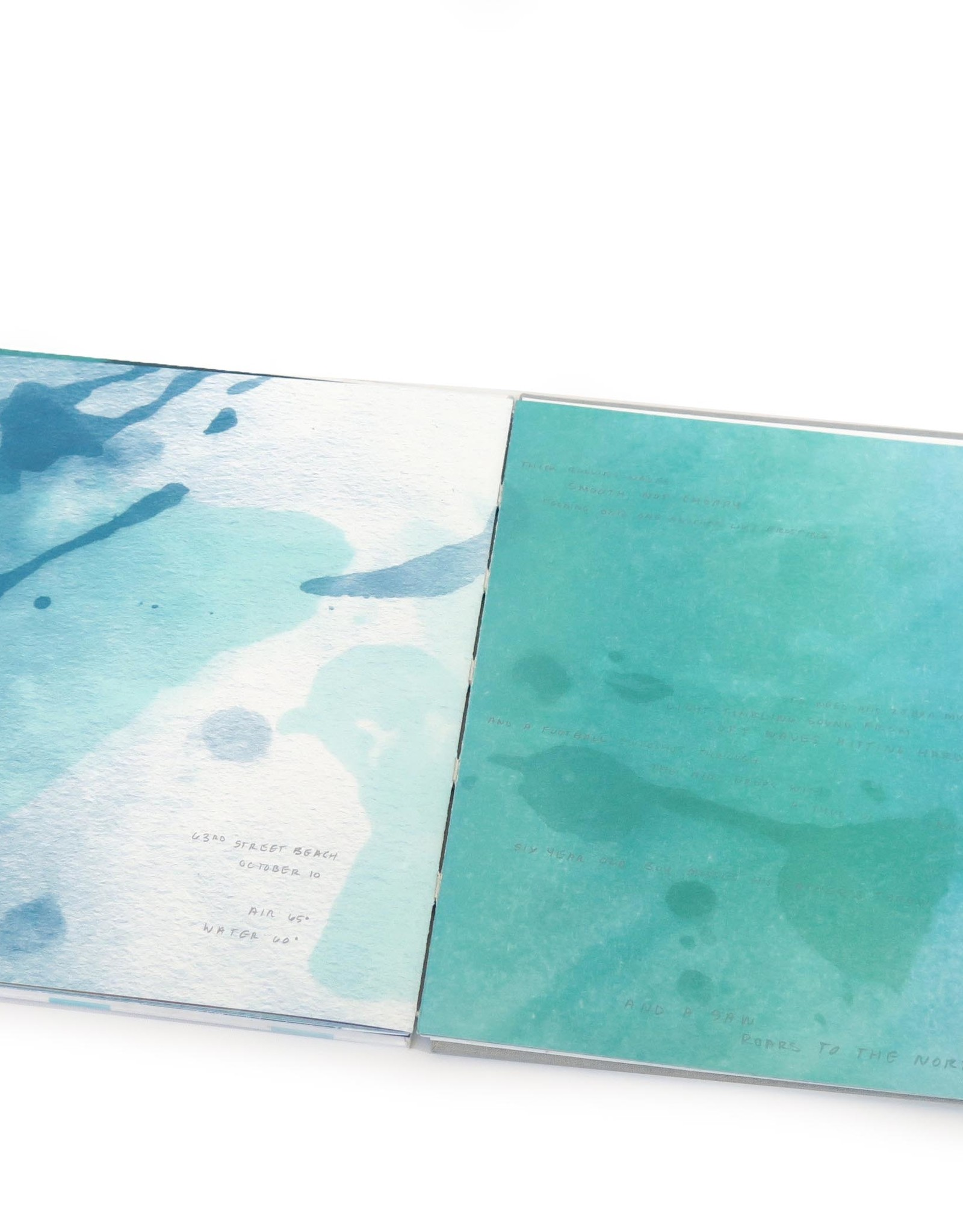 """Inland Sea"", Artist Book, Mary Clare Butler"