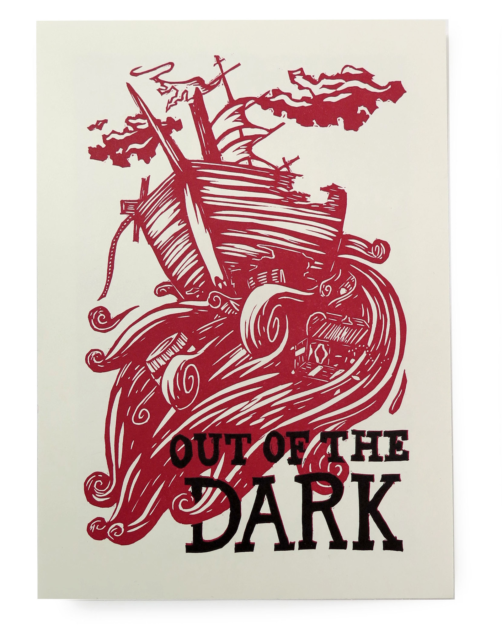 """""""Out of the Dark/Into the Water Plate 4"""" by Hannah Batsel"""