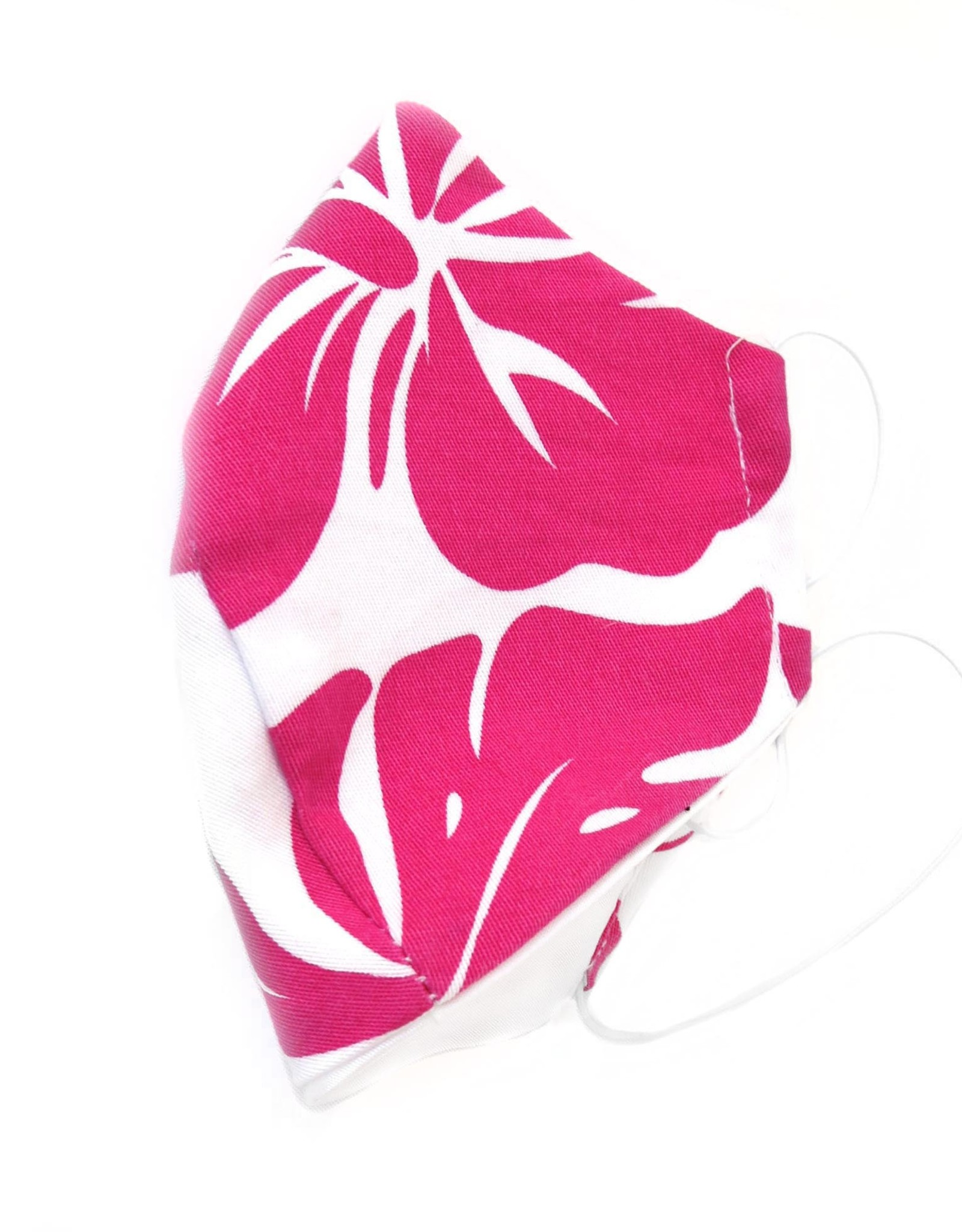 Juicey Gems Pink and White Juicey Face Mask (adult) by Juicey Gems