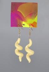 "Glow in the Dark ""Spiral"" Pair of Earrings by GERM Jewelry"