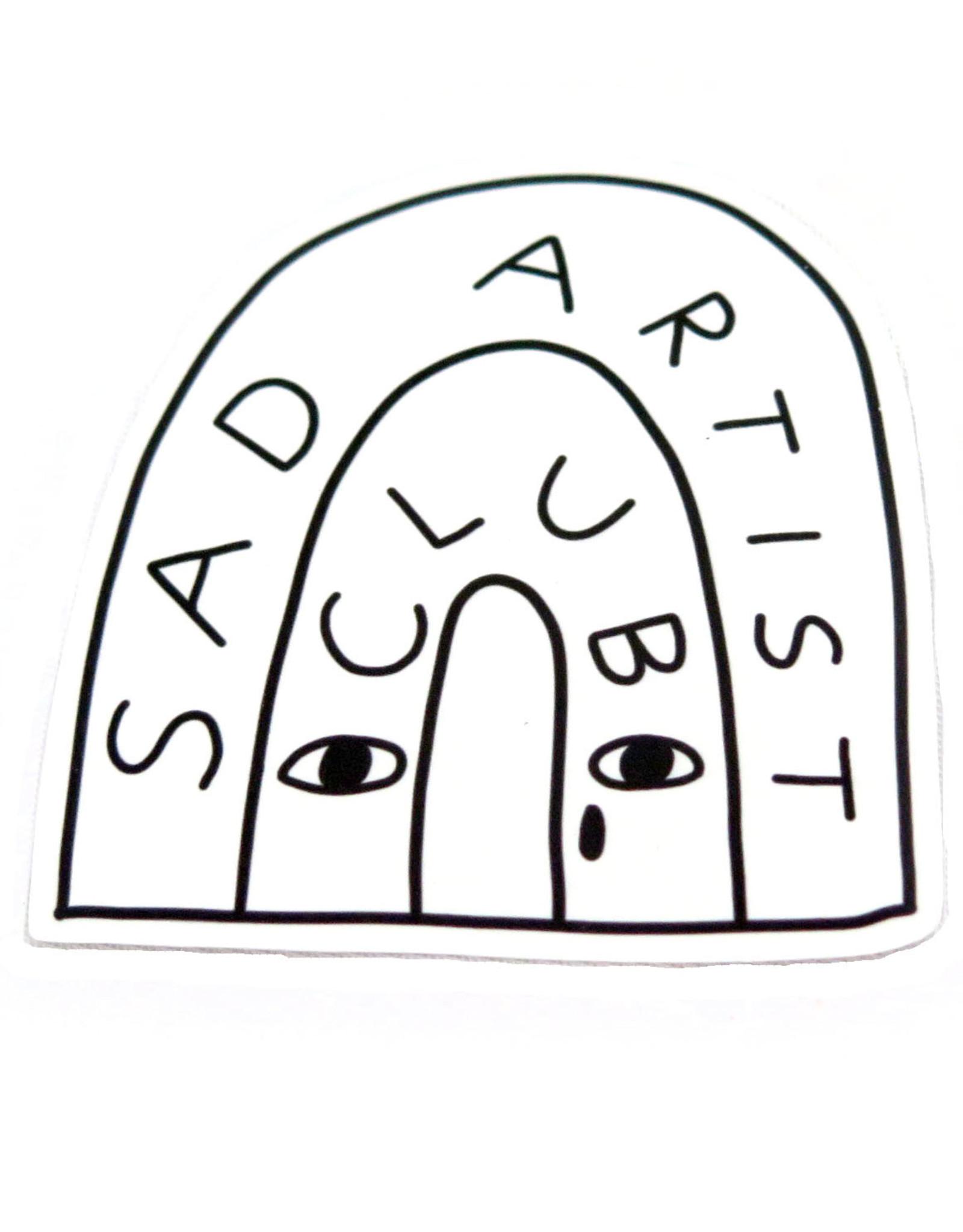"""Konoco """"Sad Artist Club"""" Sticker by Konoco"""