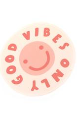 """Konoco """"Good Vibes Only"""" Sticker by Konoco"""