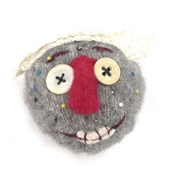 Pin Head  #1 Pin Cushion, C. Thresher