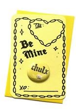 """Julia Arredondo """"Chulx Valentine"""" Button and Card by Julia Arredondo"""