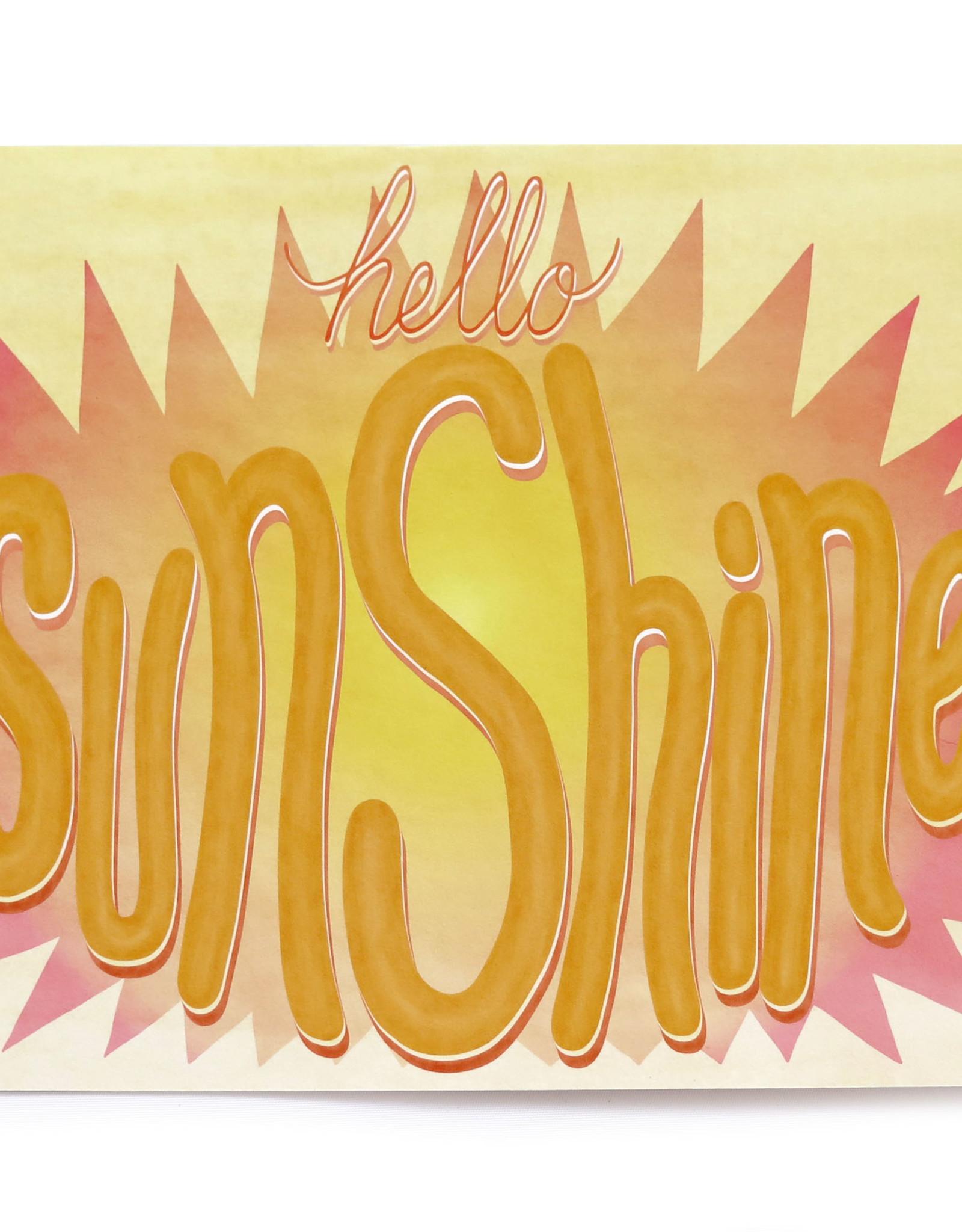 "Paper Heart Dispatch ""Sunshine"" Print, Digital by Jennifer Hines"