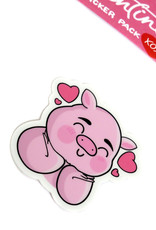 "Adriana Vincenti ""Dream pig"" Single Sticker by Adriana Vincenti"