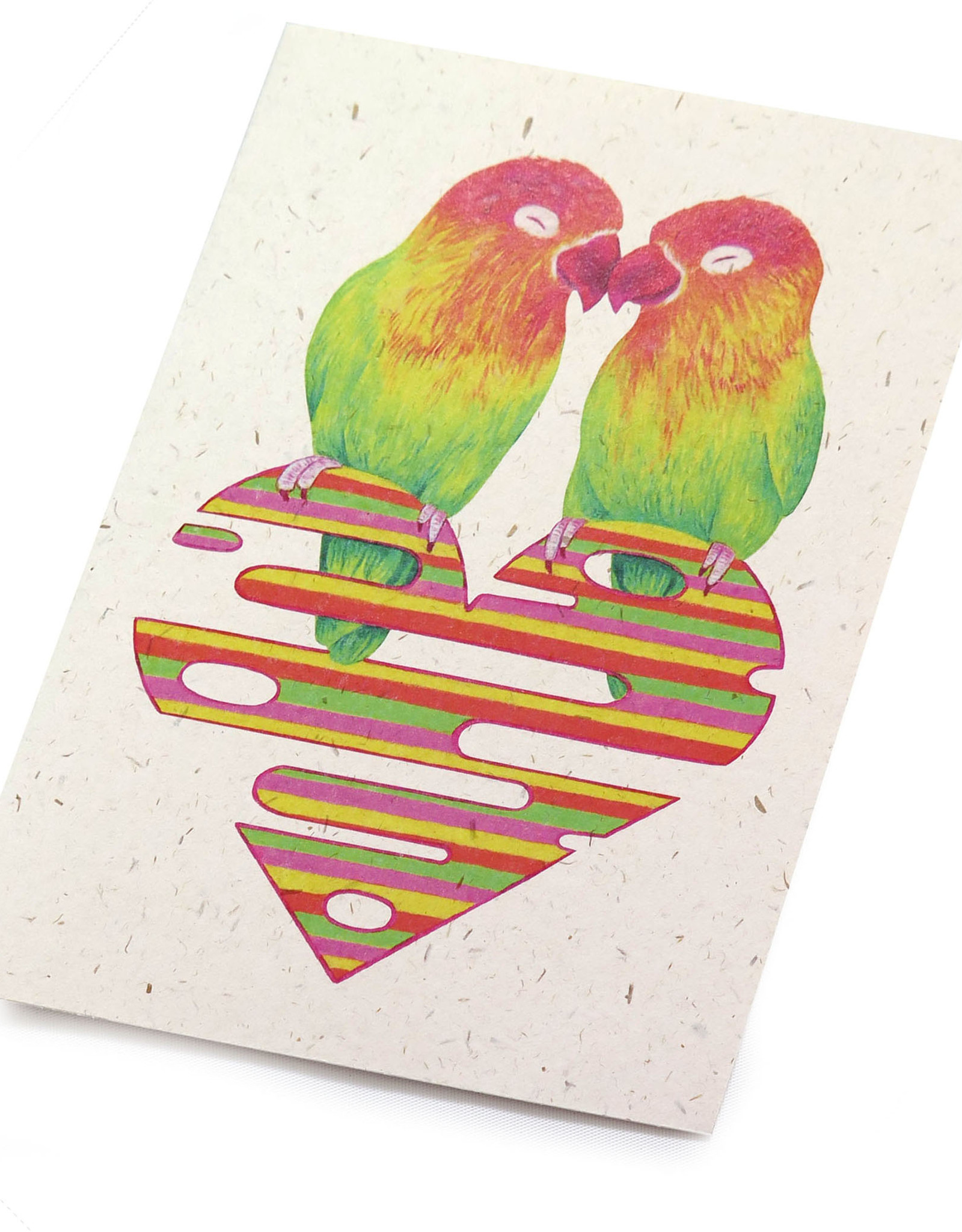 "Megan Rivera ""Love Birds"" card by Megan Rivera"