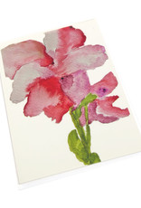 Red  Flower Greeting Card by Michele Williams