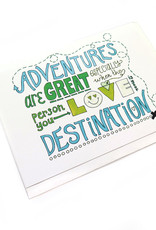 Paper Heart Dispatch Adventures are Great Card by Jennifer HInes