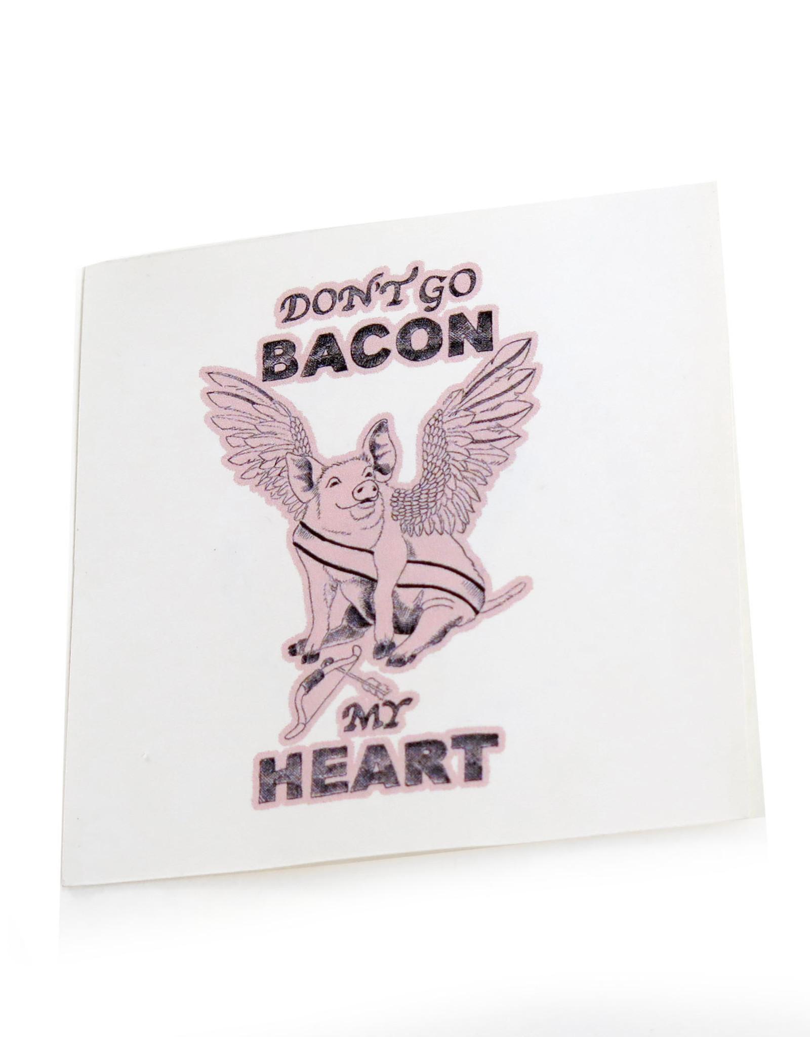 Bacon Sticker by Scott Dickens, All4Pun