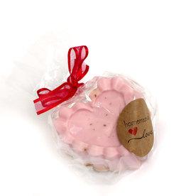 Adriana Vincenti Rose Heart Soap (opaque) by Adriana Vincenti