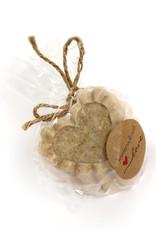 Adriana Vincenti Honey Oatmeal Heart Soap (opaque) by Adriana Vincenti