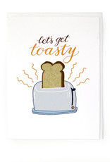 Paper Heart Dispatch Lets Get Toasty Card by Jennifer HInes