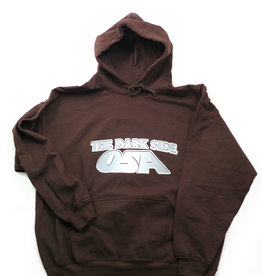 """Osa North """"The Dark Side"""" Brown Hoodie by Osa North"""