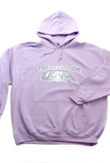 """Osa North """"The Dark Side"""" Hoodie (lavender) by Osa North"""