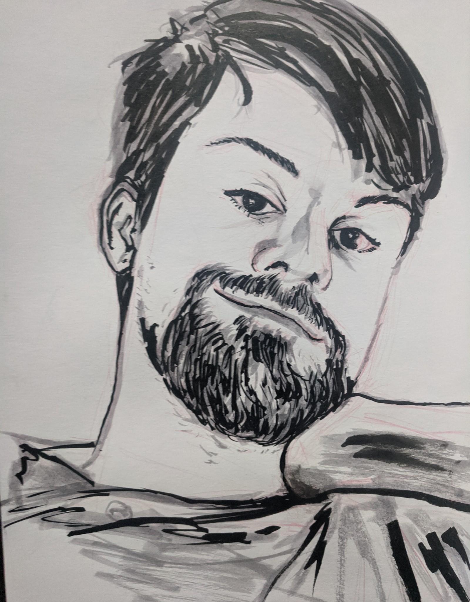 Commission Portrait by Hemal Patel