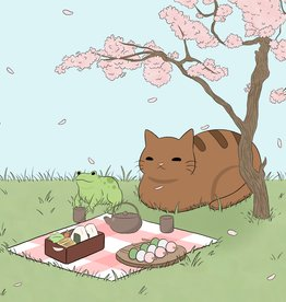 """""""Spring Best Friends"""" print by BumblebeeCat Illustrations"""
