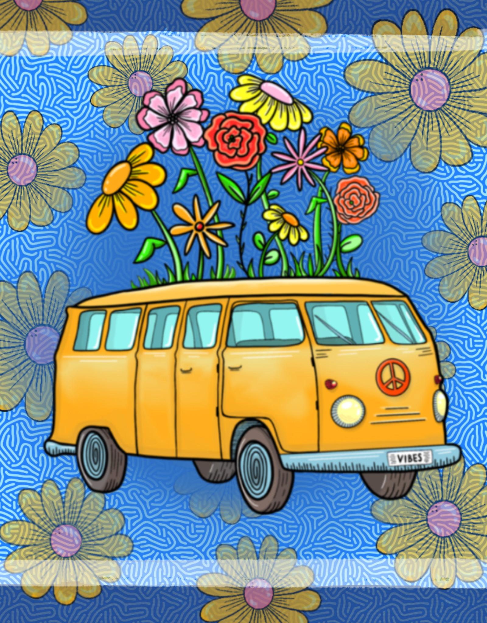 """Yellow Bus"" print by Katelyn McManis"