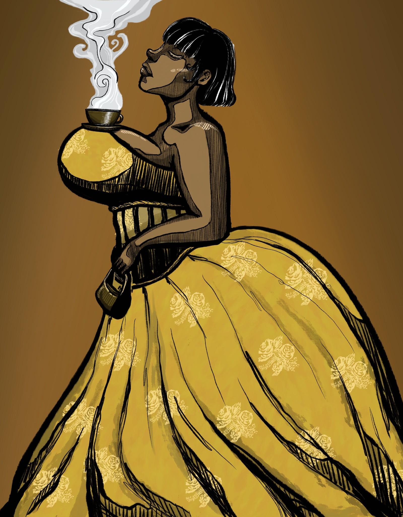 """Big Girls""  print by Yeuros"