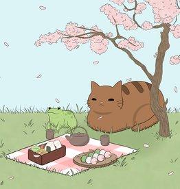 ''Spring Best Friends'' sticker by BumblebeeCat Illustrations