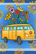 'Yellow Bus'' sticker by Katelyn McManis