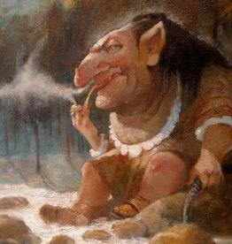'Mtn Troll''  sticker by Richard Laurent