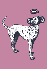 'Spotted Dog'' sticker by Alex G/ilistentoemo