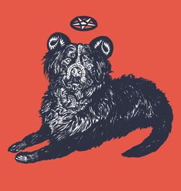 'Big Dog'' sticker by Alex G/ilistentoemo