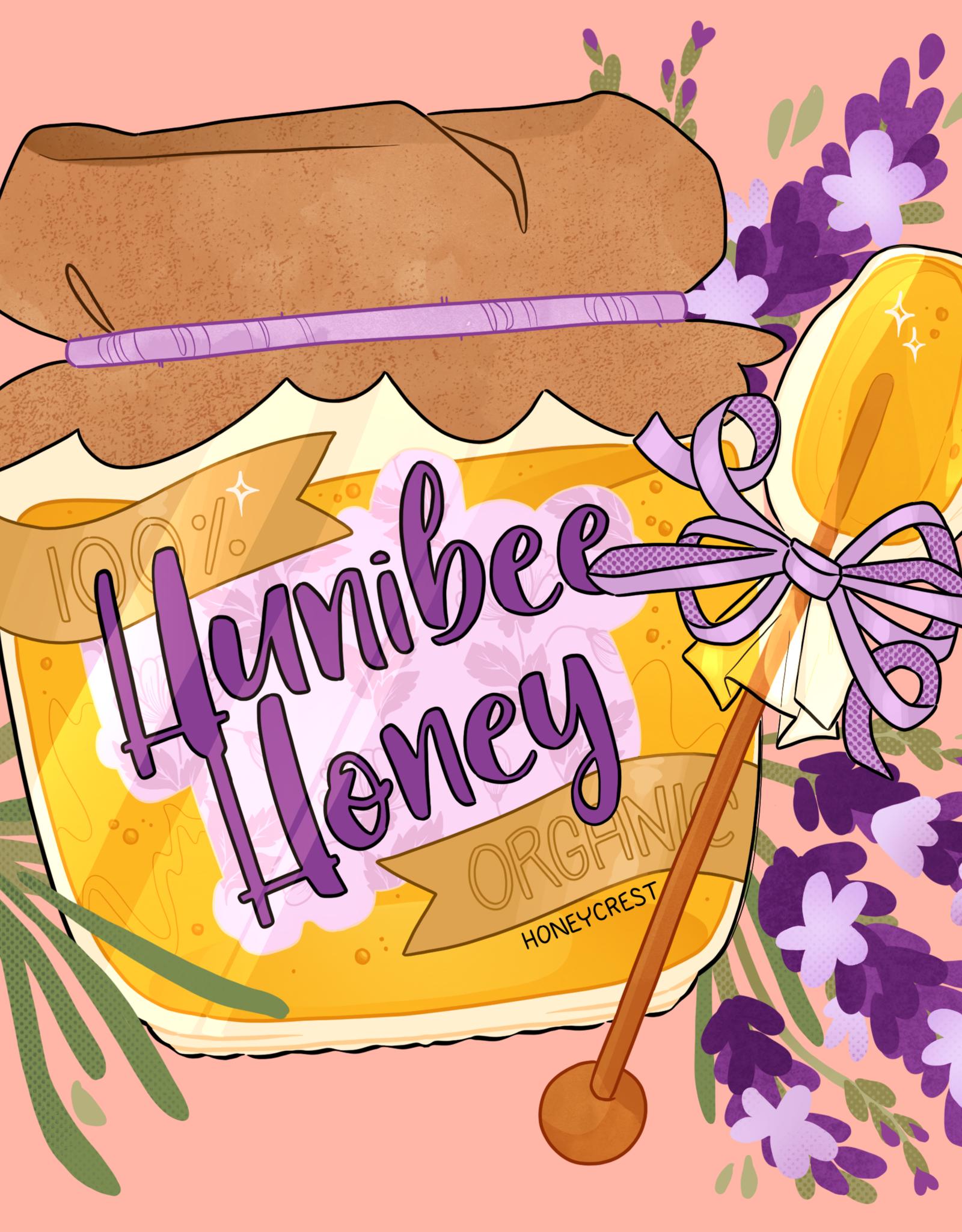 'Hunibee Honey'' sticker by hunibeetea