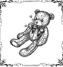 'Worn and Torn Teddy Bear'' sticker by Alli Davis / slxpxke