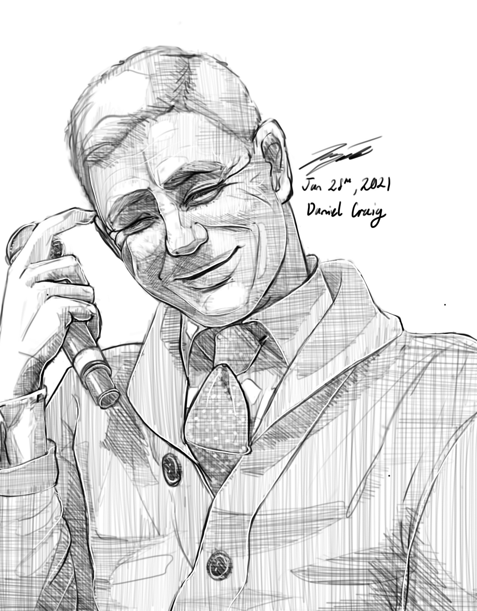 Commission Portrait by Laiqah Hanold Illustrations